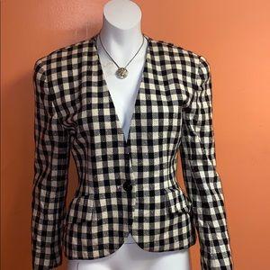 Vintage Christian Dior Tweed Blazer